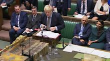 The image that shows how powerful Boris Johnson will be in this Parliament