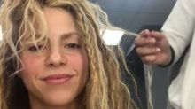 Shakira se muestra despeinada y sin maquillaje; así luce al natural