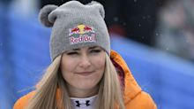 Lindsey Vonn reveals New Year's resolution: 'Try not to crash'
