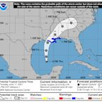 Northern Gulf Coast could see heavy rains this weekend from Tropical Storm Claudette