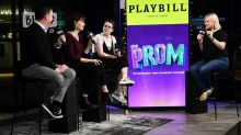 """Cast Of """"The Prom"""" Speaks On The Thanksgiving Day Parade Kiss"""