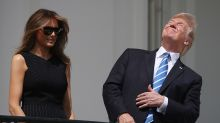 President Trump Shows How Not to Watch an Eclipse