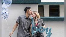 Corinna Chamberlain is having a baby boy