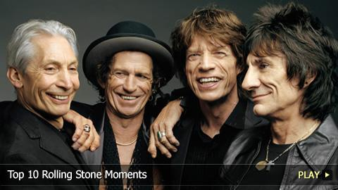 Top 10 Rolling Stone Moments