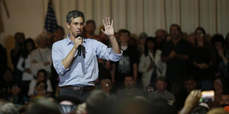"""2020 Democratic presidential hopeful Beto O'Rourke has renewed calls for impeachment against President Donald Trump \- with a dire warning about the consequences of not doing so.Mr O'Rourke stressed to late night host Stephen Colbert that his calls for impeachment weren't just about """"getting rid of the president.""""Rather, he believes impeachment proceedings could lead to """"finding the facts, getting to the truth, ensuring that there's accountability and justice for what happened to this democracy in 2016.""""""""If we set the precedent that some people are above the law, or beyond the reach of the law, by not impeaching this president, not getting to the facts or the truth, I think that begins the end of this democracy.""""In early May, Mr O'Rourke changed his tune regarding impeachment, as he had previously told reporters that it was not his place to comment on whether he believes President Trump should be impeached, saying """"I'm going to leave that to those members of the House who as they review those findings can make that decision. But ultimately at this point I believe that this is going to be decided in November 2020.""""But in an interview with the Dallas Morning News, the young presidential hopeful said: """"We're finally learning the truth about this president. And yes, there has to be consequences. Yes, there has to be accountability. Yes, I think there's enough evidence now for the House of Representatives to move forward with impeachment.""""This is our country, and this is the one chance that we get to ensure that it remains a democracy and that no man, regardless of his position, is above the law.""""Mr O'Rourke, who is currently polling at about 2 per cent, was defeated in the 2018 midterms by Texas Republican and 2016 presidential candidate Ted Cruz. When Colbert asked why Mr O'Rourke was running for the White House rather than a Senate seat, the former Texas State Representative said that he wanted """"to be in the most consequential position to make sure that I do everythin"""