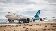 GE has completed its first flight test of the world's largest jet engine