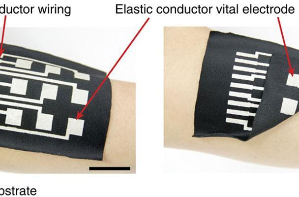 Stretchy conductive ink puts computing power on your clothes