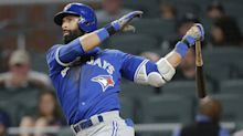 Jose Bautista bat flip inspires vicious clap back from Braves pitcher
