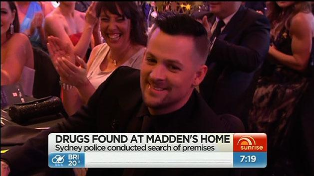 Madden not charged over drug bust