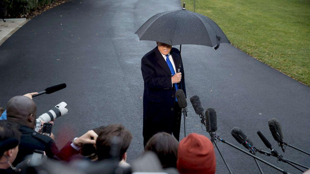 Trump: Won't send lawyer to impeachment hearing 'because it's all a hoax'
