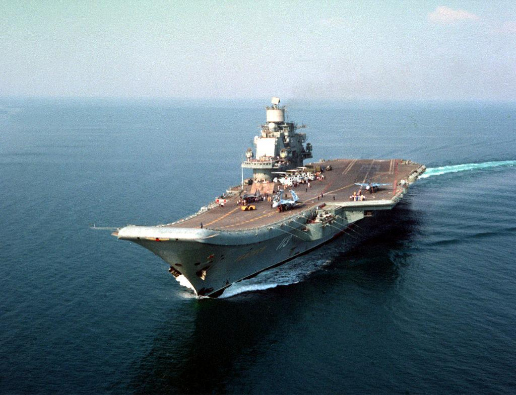Can Putin S Aircraft Carrier Stay Afloat On Its Syria Mission