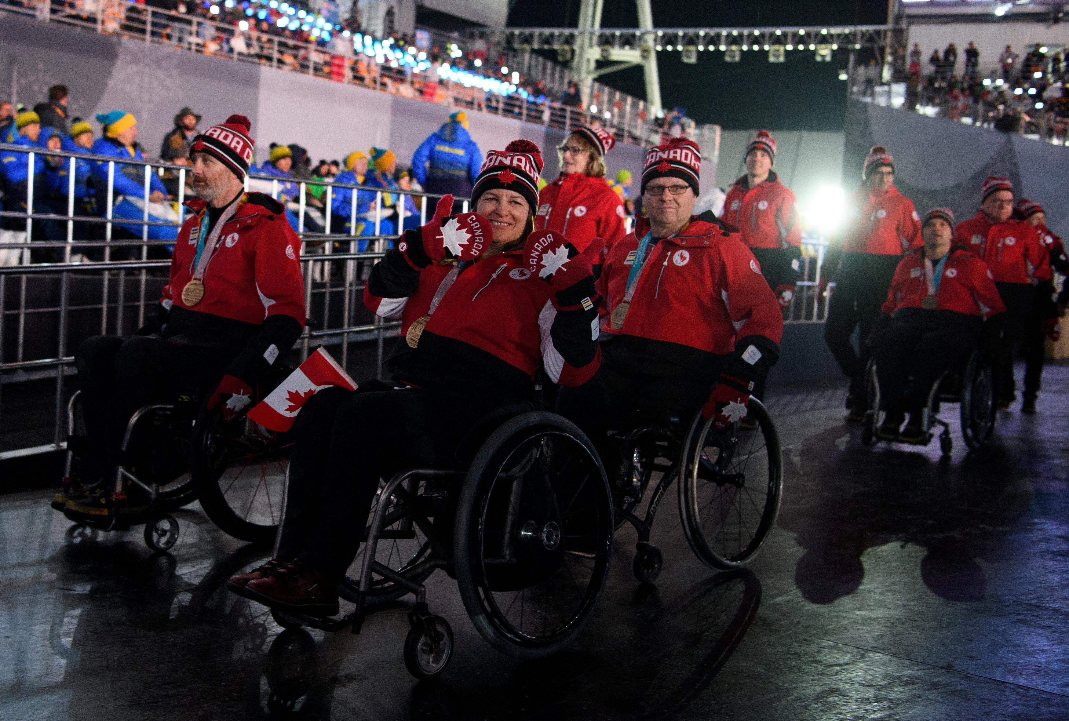 Canada At The Paralympic Games