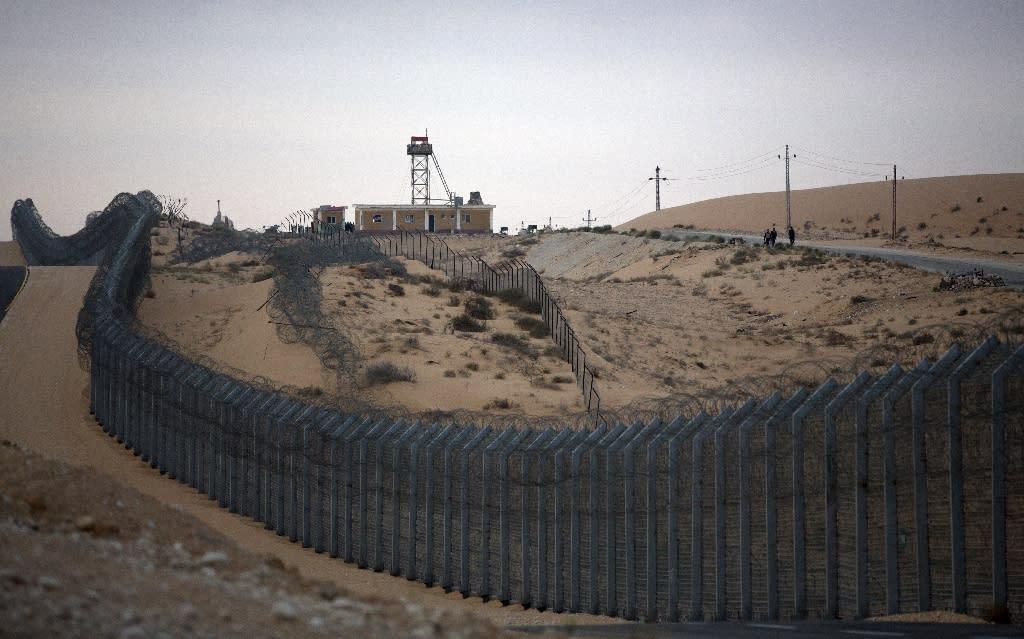 Egypt army says killed 5 Sudanese near Israel border in clash