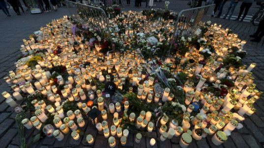 Finland marks minute of silence for stabbing victims
