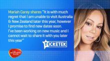 Mariah Carey cancels Australian tour