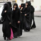 Saudi women launch protest against abaya by wearing garment inside out