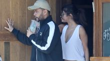 The Weeknd Travels Back From Paris to Celebrate Selena Gomez's 25th Birthday