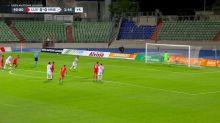 Foot - Ligue des nations : Le but de Luxembourg-Monténégro