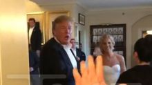 Donald Trump Crashes A Wedding Again