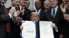 Trump signs bill easing post-2008 crisis restraints on banks