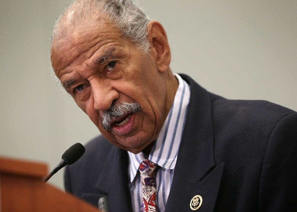 US Rep. John Conyers of Michigan retired amid allegations of sexual harassment and an alleged payoff to cover up his actions (AFP Photo/ALEX WONG)
