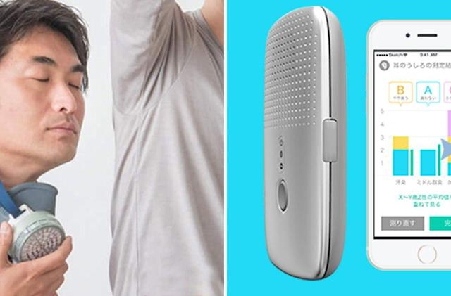 This gadget tells you if you smell so others don't have to
