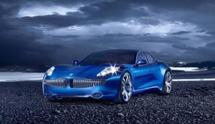 """The """"eco-chic"""" Fisker Karma and 150mpg XH-150 hybrids revealed"""