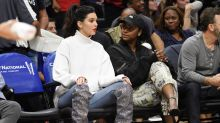 Kendall Jenner wears £7,600 boots to a basketball game because she can
