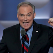 Tim Kaine makes his big introduction to America with a searing takedown of Donald Trump