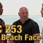 UFC 253: Adesanya vs Costa Beach Face-Offs on Fight Island