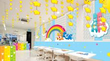 Sample Care Bear-themed fare at this pop-up cafe opening in February