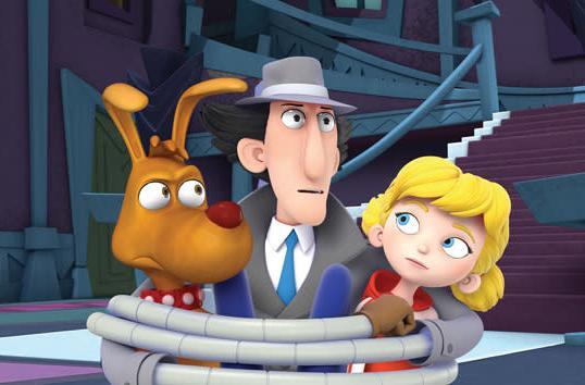 Netflix is bringing back 'Inspector Gadget' and 'Danger Mouse'