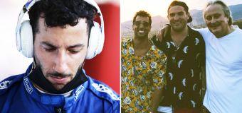'Great man': Dan Ricciardo rocked by awful tragedy