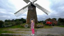 Woman completes ultimate DIY renovation project of one of Britain's last fully working windmills