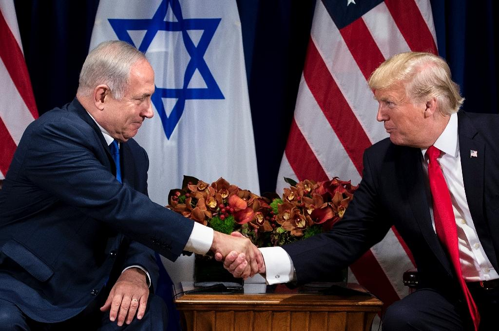 Any move by Trump to recognize Jerusalem as the Israeli capital would be warmly welcomed by Israel's Prime Minister Benjamin Netanyahu (AFP Photo/Brendan Smialowski)