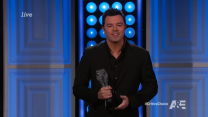 Seth MacFarlane Rips A&E, 'Duck Dynasty' In Award Acceptance Speech