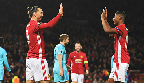 "Premier League: Rashford: ""Besserer Spieler dank Ibrahimovic"""