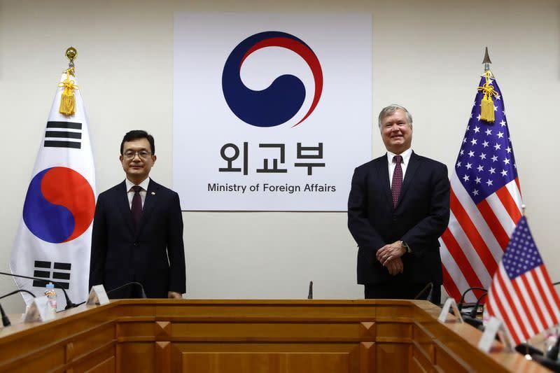 U.S. Deputy Secretary of State Stephen Biegun visits Seoul