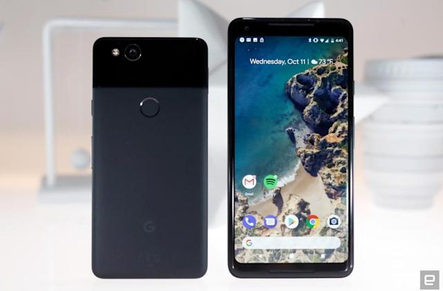 Google's Pixel 2 is hiding an old-school menu button