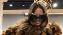 XXL-Kuschelbär: Model Heidi Klum feiert Mega-Teddy-Mantel!