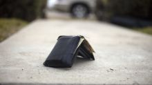 You are more likely to get your wallet back if it's full of cash