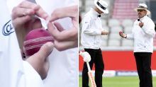 England caught in 'ball-tampering' drama after virus breach
