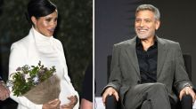 George Clooney hints Meghan is due sooner than we thought
