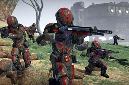 New PlanetSide 2 screenshots show troops in action