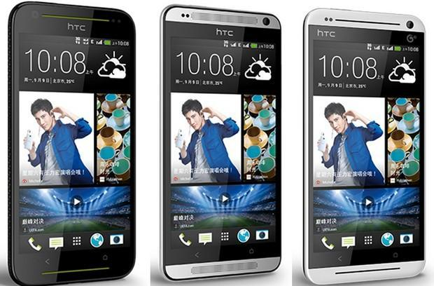 HTC launches trio of One-like Desire smartphones in China, one for each carrier