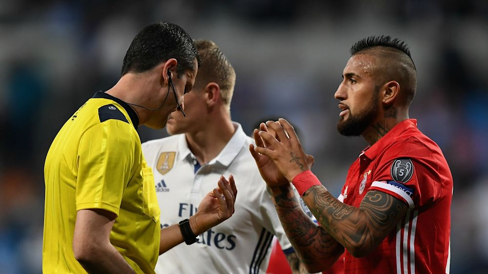 """Vidal: """"Es muy fuerte que te roben un partido así"""""""
