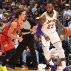 GAME RECAP: Lakers 107, Hawks 106