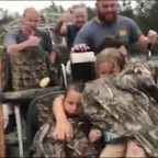 Hurricane Florence: Dramatic moment family is rescued from floodwaters in North Carolina