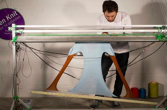 Make your own clothes with this open source printer