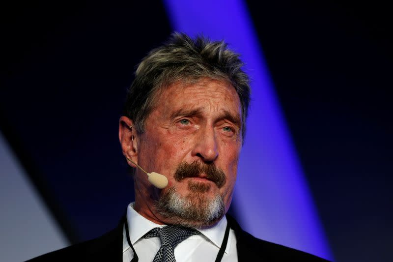 Antivirus software pioneer McAfee charged by U.S. with cryptocurrency fraud - Yahoo News